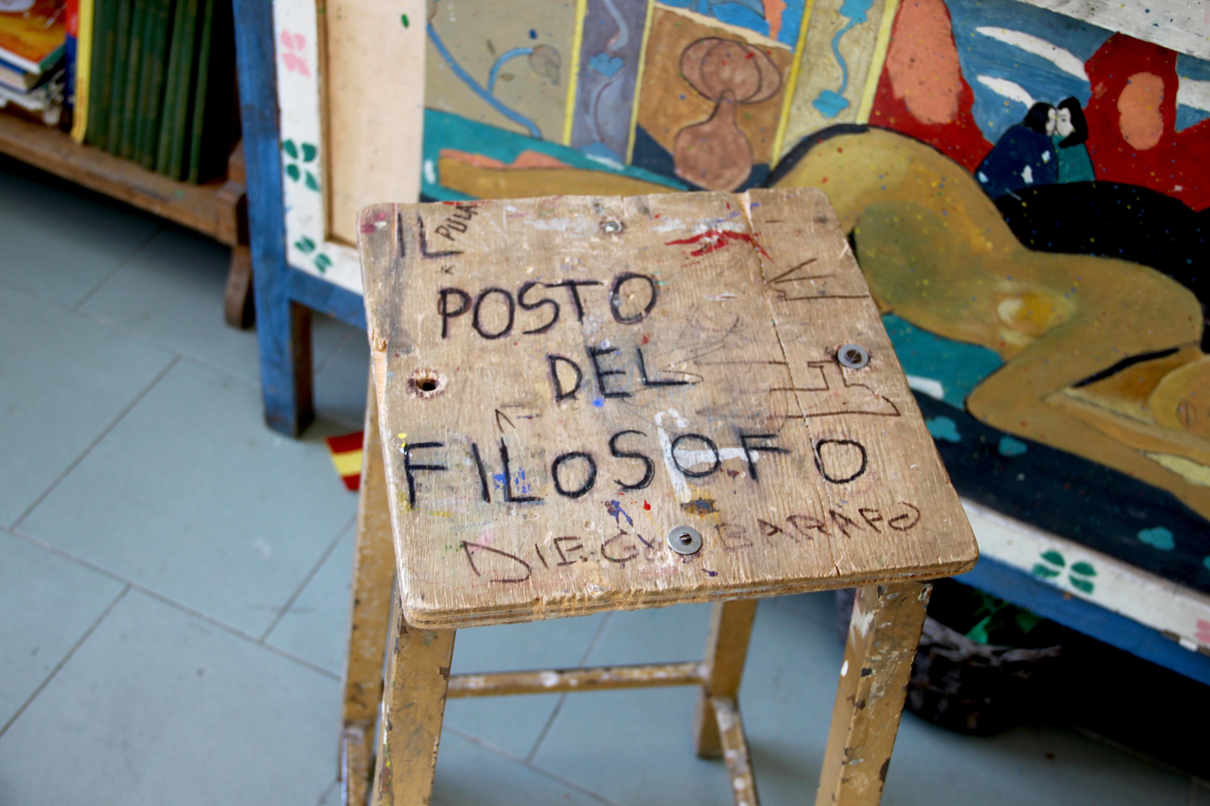 dettaglio del laboratorio creativo Arte e Natura del Carcere Minorile di Firenze