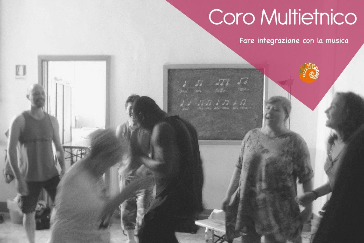 Coro Multietnico a Firenze, progetto Arte-e