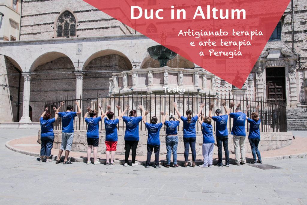 Artigianato e disabilità a Perugia: Progetto Duc In Altum